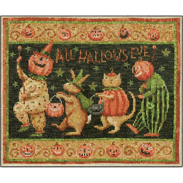 Halloween March Cross Stitch Pattern