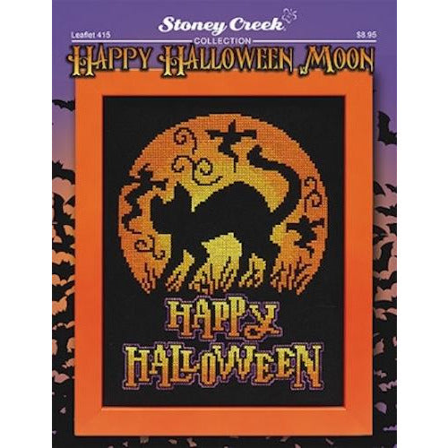 Happy Halloween Moon Pattern