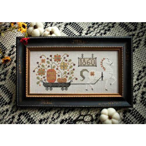 Harvest Delivery Cross Stitch Pattern