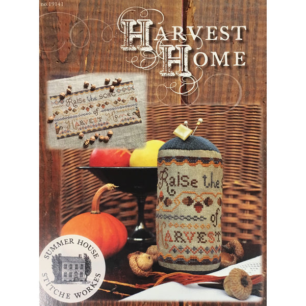 Harvest Home Cross Stitch Pattern