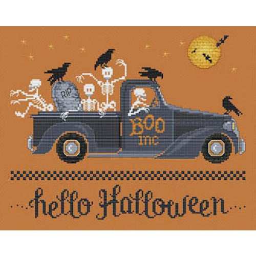 Hello Halloween Pattern