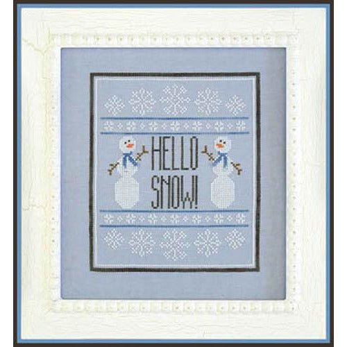 Hello Snow! Pattern