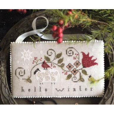Hello Winter Cross Stitch Pattern