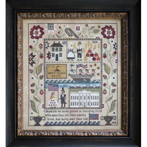Heritage Sampler Cross Stitch Pattern