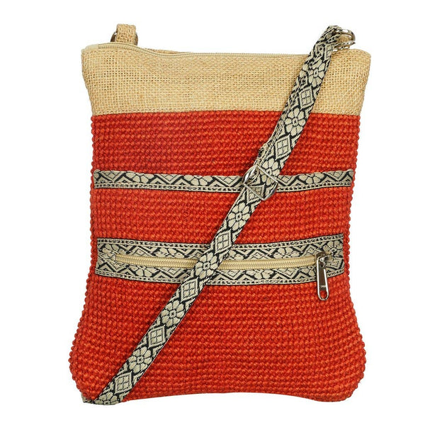 Project Bag - Red Jute Hipster