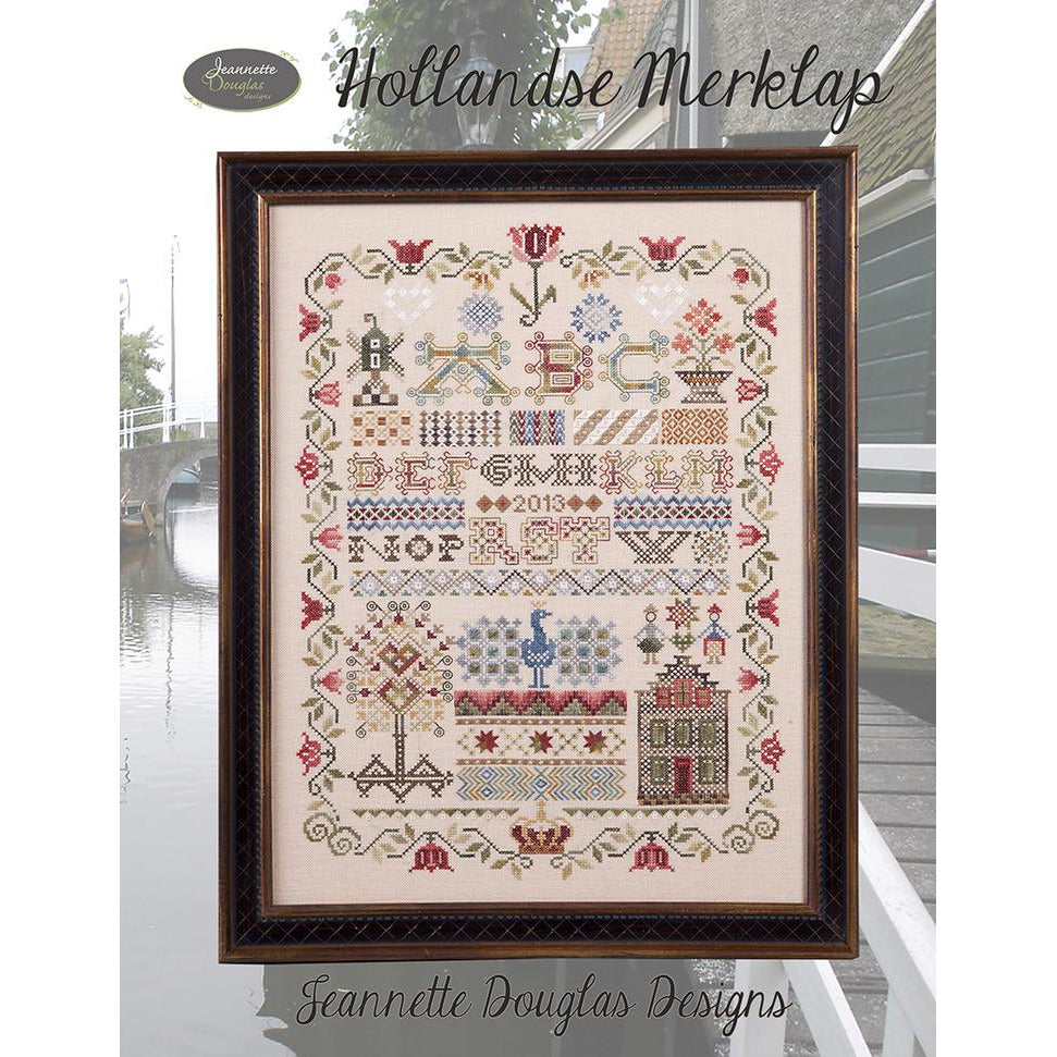Hollandse Merklap Sampler Pattern