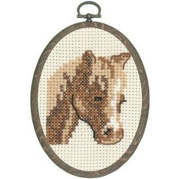 My First Kit - Horse Cross Stitch Kit