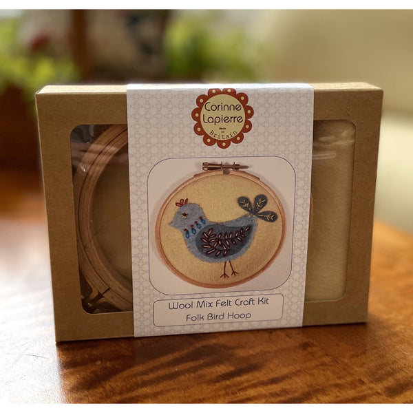 Wool Mix Felt Craft Kit ~ Folk Bird