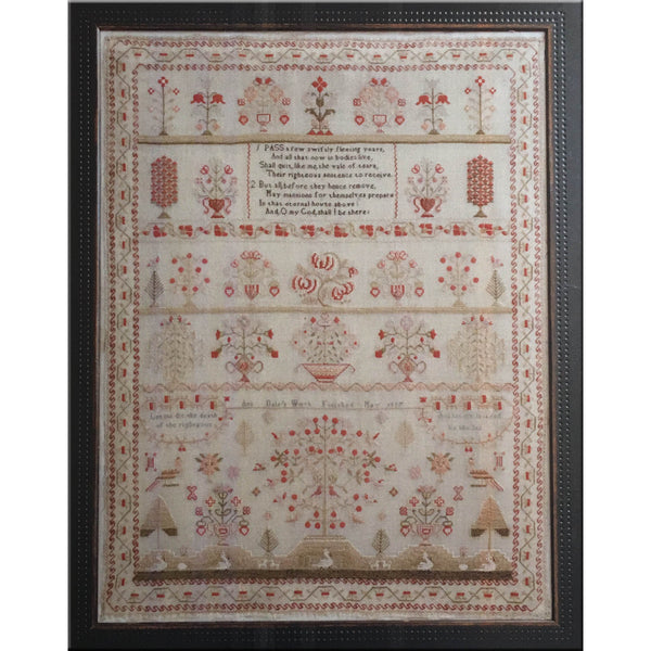Ann Dale 1827: Big and Beautiful Sampler Cross Stitch Pattern