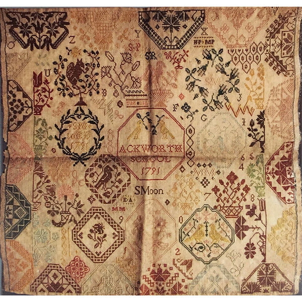 Sarah Moon 1791 Quaker Sampler Pattern