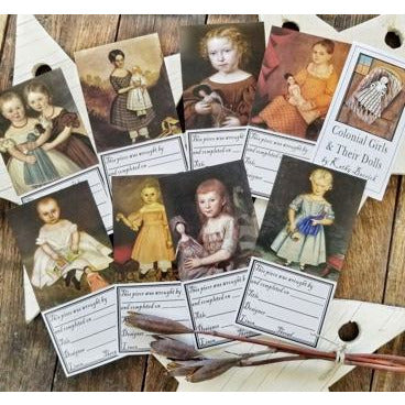 Kathy Barrick ~ Colonial Girls & Their Dolls Labels EXPO PRE-ORDER
