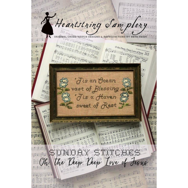 Sunday Stitches Pattern ~ Oh the Deep Deep Love of Jesus