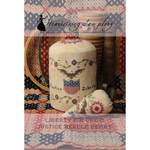 Liberty Pin Drum and Needle Berries Pattern