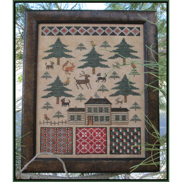 In The Pines Cross Stitch Pattern