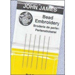 John James Size 10 Short Beading Needles