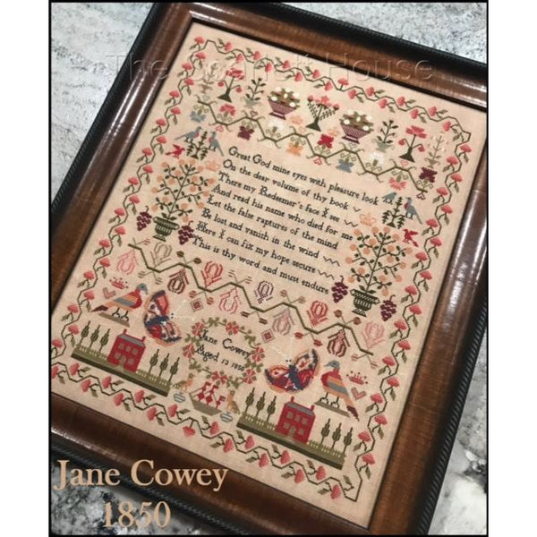 Jane Cowey 1850 Sampler Pattern