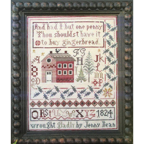 Jenny Bean's Christmas Sampler Cross Stitch Pattern