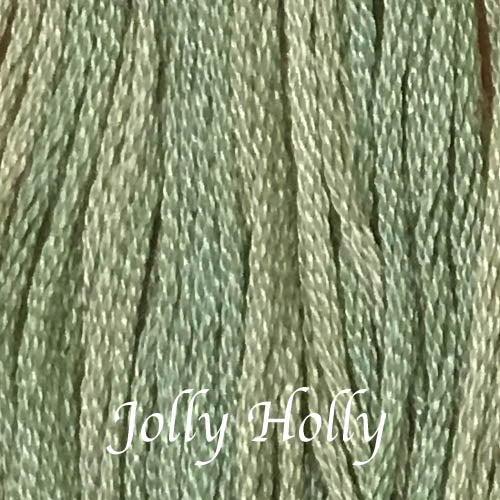 Jolly Holly CCT-159 Classic Colorworks Embroidery Floss