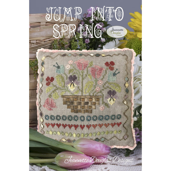 Jump into Spring Pattern