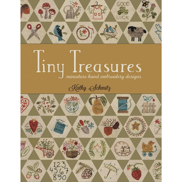 Tiny Treasures ~ Miniature Hand Embroidery Designs