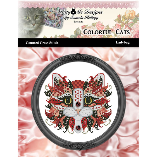 Colorful Cats - Ladybug Pattern