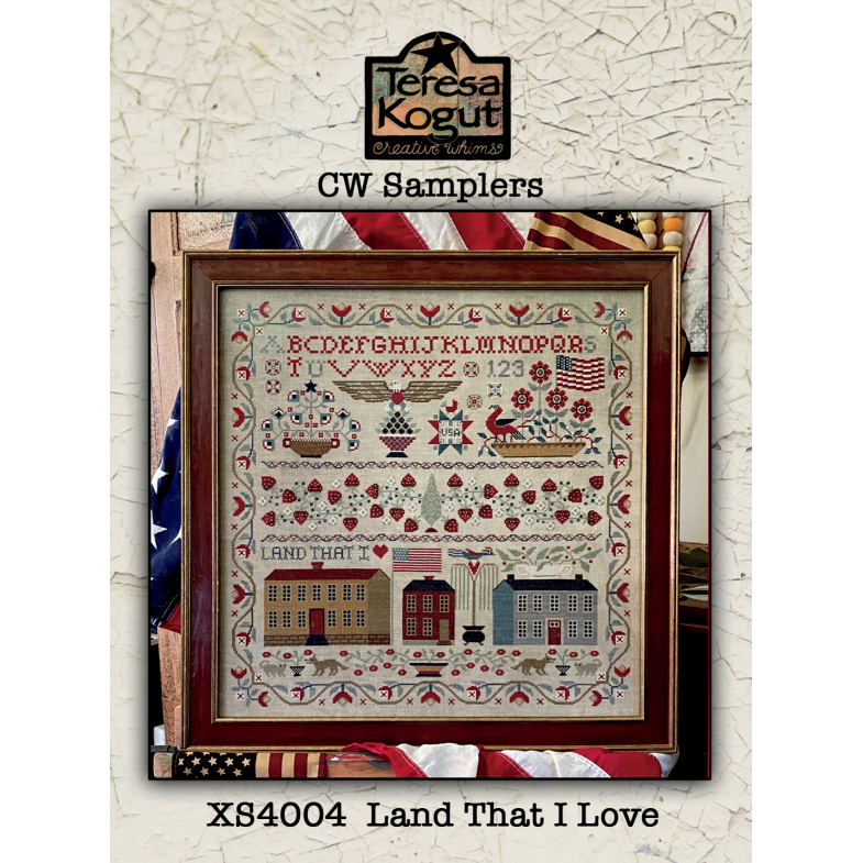 Land That I Love Sampler Pattern