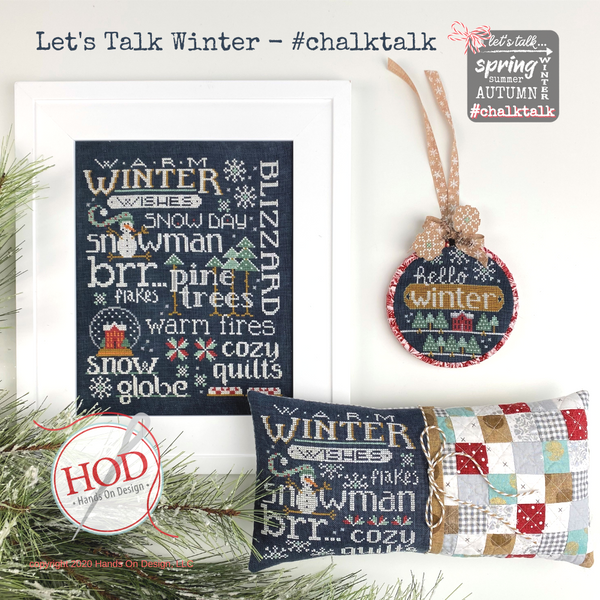 Let's Talk Winter - #Chalktalk Pattern