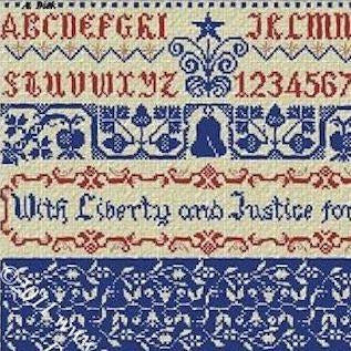 Liberty & Justice For All Pattern