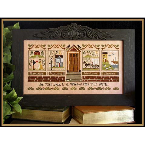 The Library Cross Stitch Pattern