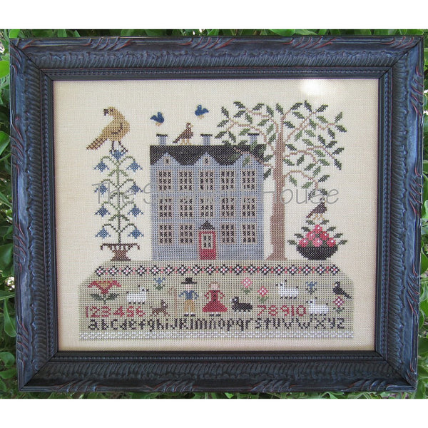 Life on Sampler Hill Cross Stitch Pattern