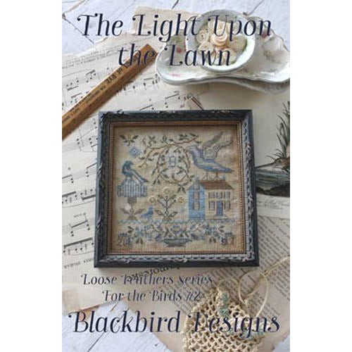 For the Birds 2 - Light Upon Lawn Pattern