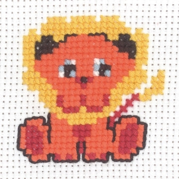 My First Kit - Lion Cross Stitch Kit