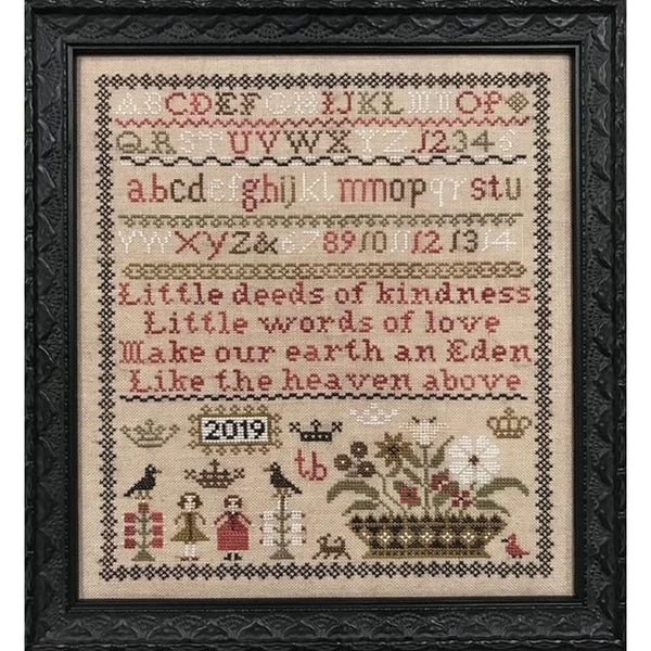 Little Deeds Sampler Pattern