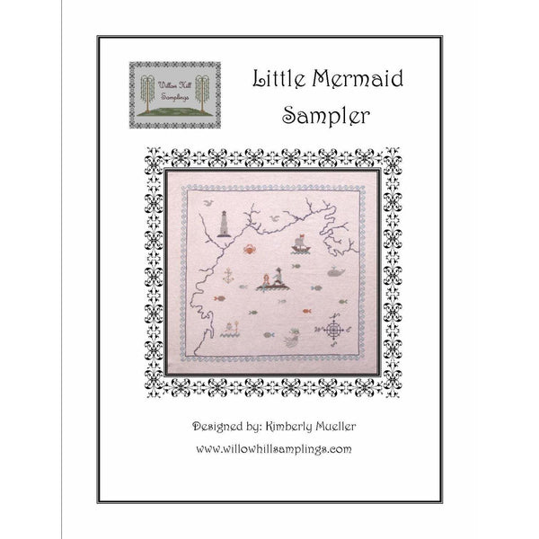 Little Mermaid Sampler Pattern