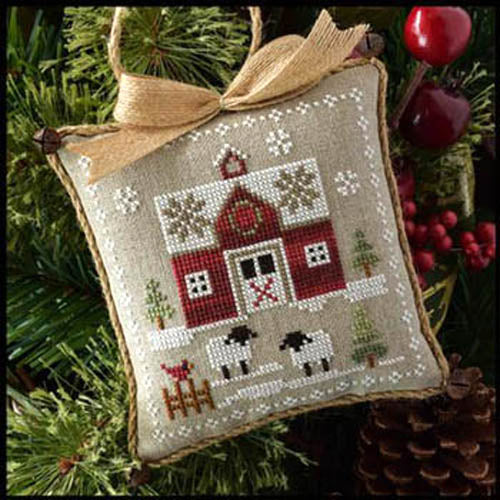 Farmhouse Christmas Part 1 Little Red Barn Pattern