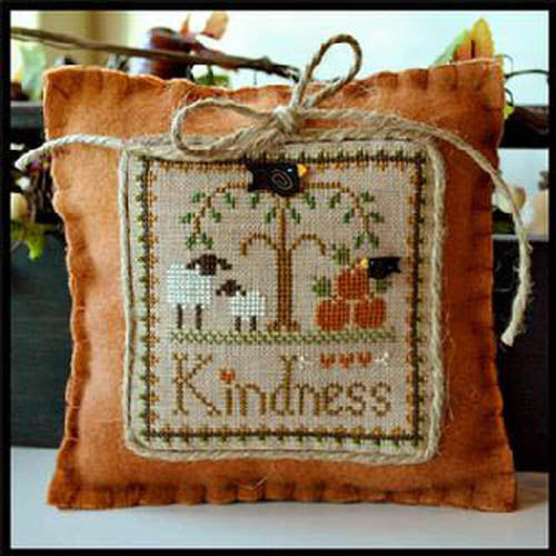 "Little Sheep Virtues Pattern 10 -  ""Kindness"""