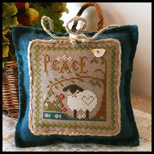 "Little Sheep Virtues Pattern 3 -  ""Peace"""