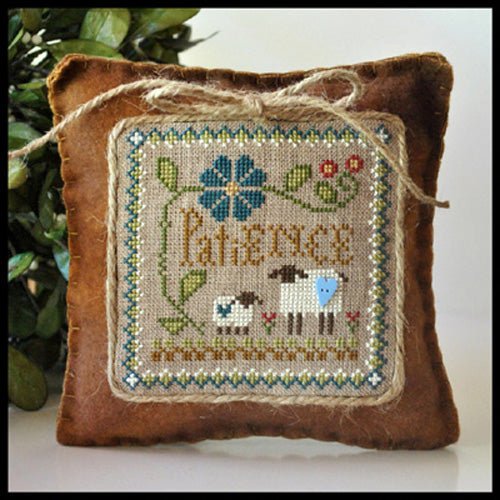 "Little Sheep Virtues Pattern 7 -  ""Patience"""