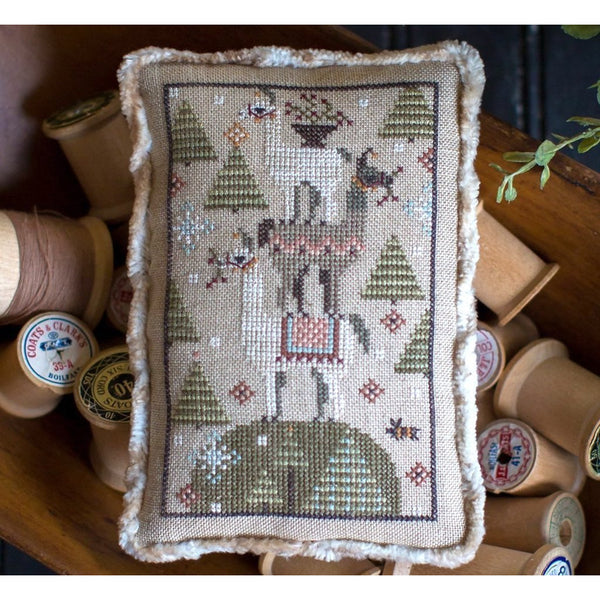 Llama Lump Cross Stitch Pattern