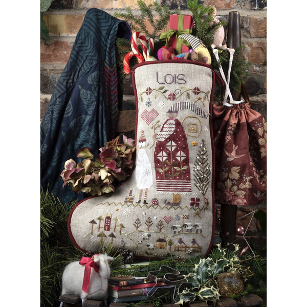 Lois's Christmas Stocking Cross Stitch Pattern