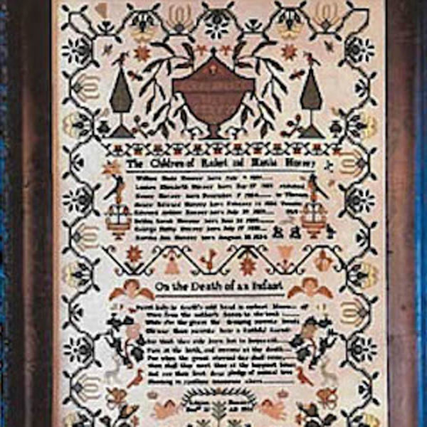 Louisa Horsey 1838 Sampler Cross Stitch Pattern