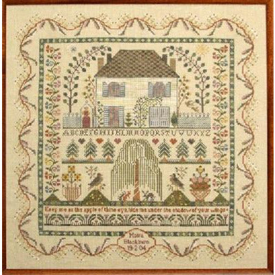 Keep Me Sampler Cross Stitch Pattern