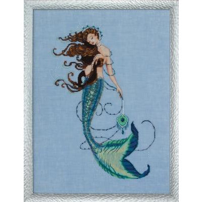 Renaissance Mermaid Pattern