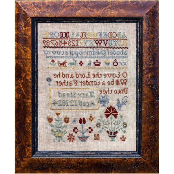 Little Gems Series - Mary Stead 1824 Sampler Pattern PDF