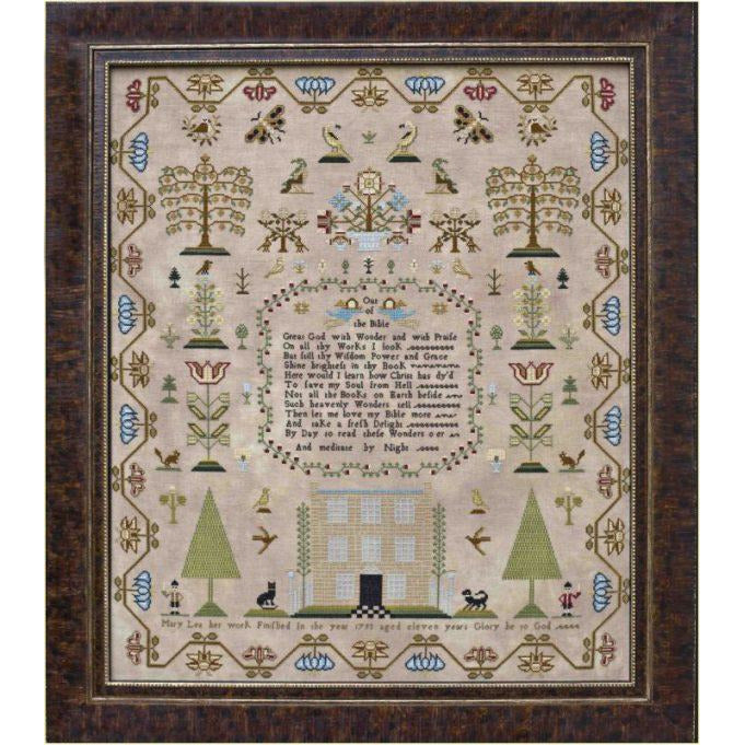 Mary Lea 1793 Reproduction Sampler Pattern