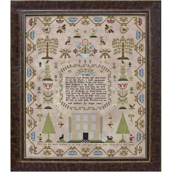 Mary Lea 1793 Sampler Cross Stitch Pattern