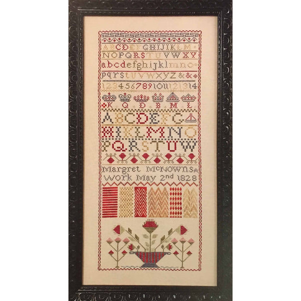 Margret McNowns 1828 Sampler Pattern