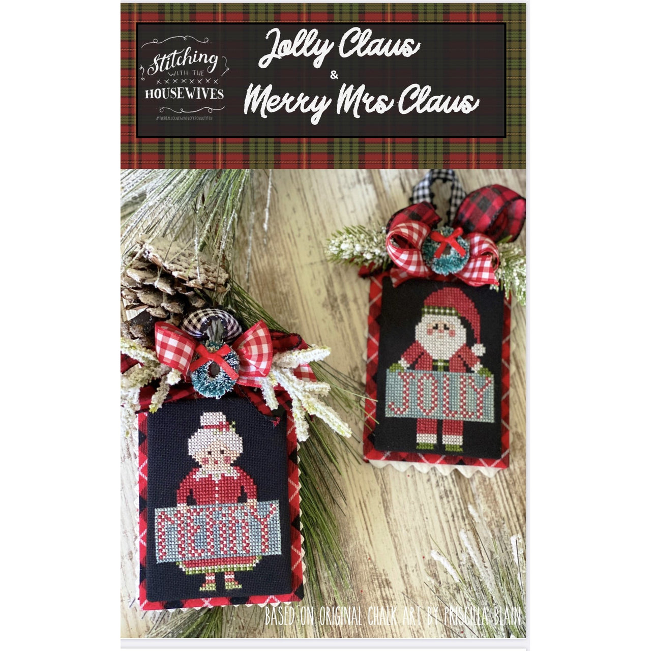 Jolly Claus & Merry Mrs Pattern