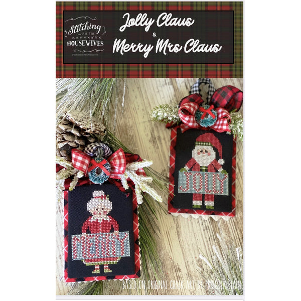 Jolly Claus & Merry Mrs Pattern - Available Mid-October