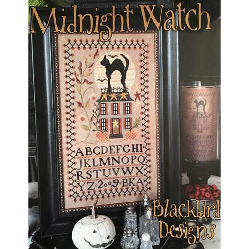 Midnight Watch Halloween Sampler Pattern